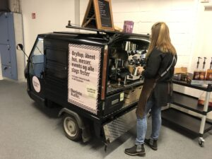 Kaffevogn / kaffeknallert med baristaservice